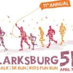 CLARKSBURG 5K RUN LOGO